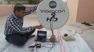 videocon dish setting