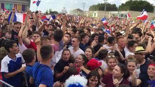 Angoulême en liesse après la victoire des Bleus