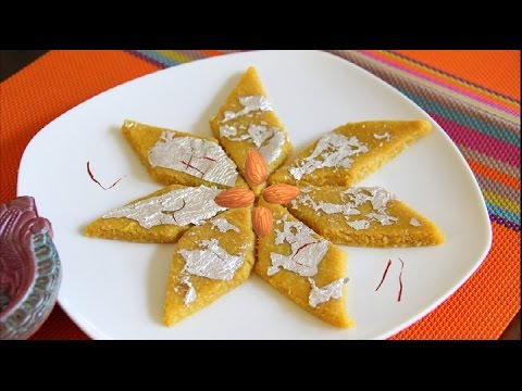 Quick Kesar Badam Katli Recipe Video | Quick & Easy Rakhi Diwali Sweet By Bhavna
