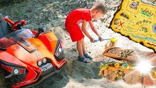 Tema Found Toy Treasure Fun story for kids