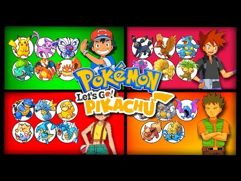 Ash Ketchum's Pokemon Team in