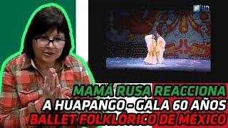 RUSSIANS REACT to Huapango | Gala 60 Años Ballet Folklórico de México de Amalia Hernández | REACTION
