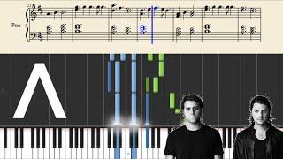 Axwell Ingrosso - Sun is shining - Piano Tutorial
