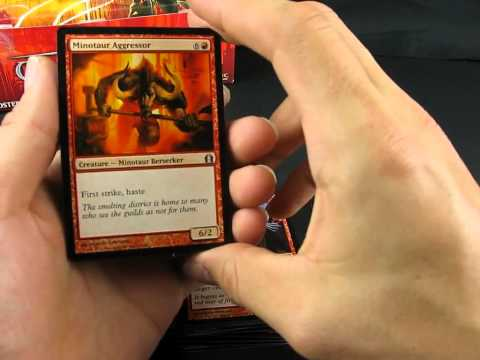 Обзор большой коробки карт Magic the Gathering №03