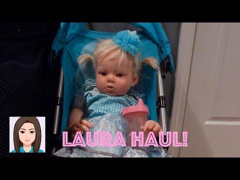 Walmart Haul For Reborn Toddler Laura