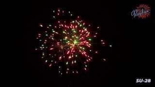 Фейерверк Новогодний (SU-28)(Фейерверк Новогодний (SU-28), описание: Количество выстрелов: 25 Калибр: 30 мм Время работы: 40 с Высота выстрела:..., 2013-10-28T08:47:43.000Z)