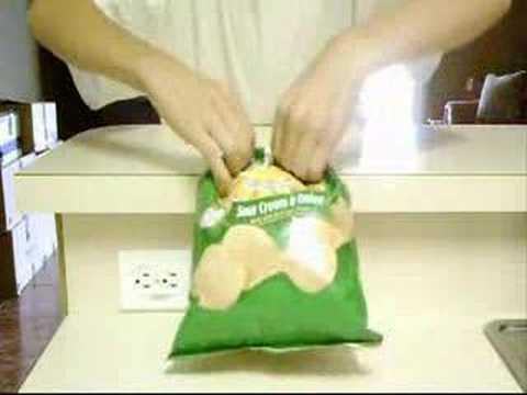 Como Cerrar Las Patatas Fritas Sin Pinzas Youtube