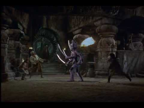 The Golden Voyage of Sinbad 1974  Battle with Kali