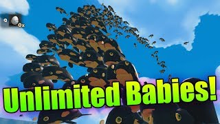 Unlimited Babies! Baby Penguin Army! | Feed And Grow Fish Modded