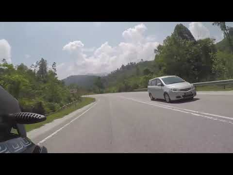 Cameron Highlands Climb Route 185 Simpang Pulai on BMW R1200GSA