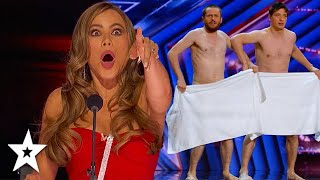 I SAW EVERYTHING! Funny Act SHOCKS Judges on America's Got Talent 2021 | Got Talent Global