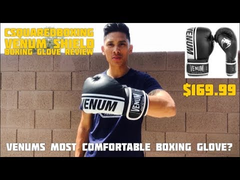 Venum SHIELD Boxing Gloves REVIEW- VENUMS MOST COMFORTABLE GLOVE?!