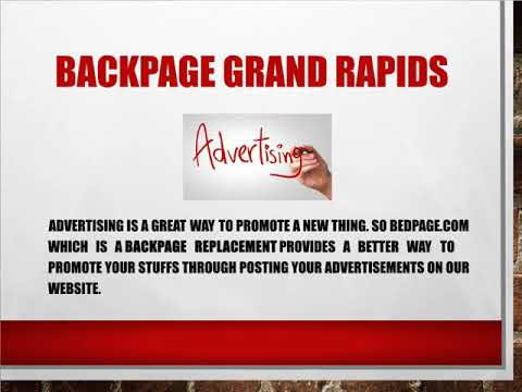 Backpage grand rapid