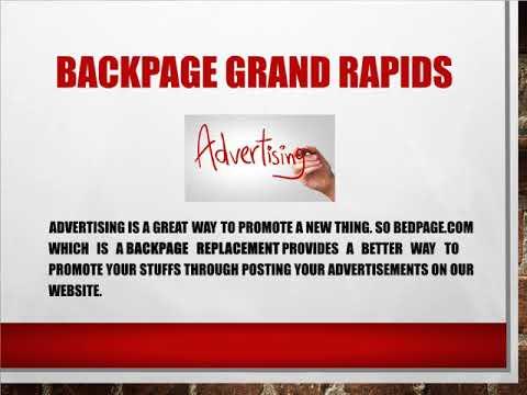 Grandrapids backpage