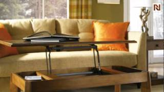 Ascend Rectangular Lift Top Cocktail Table T2083200-00 By Hammary Furniture