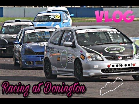 Racing Vlog Donington Park Honda Civic Type R Nippon Challenge