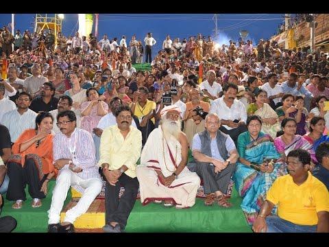 Pushkara Aarti Godavari Pushkaralu At Rajahmundry - Hybiz.tv