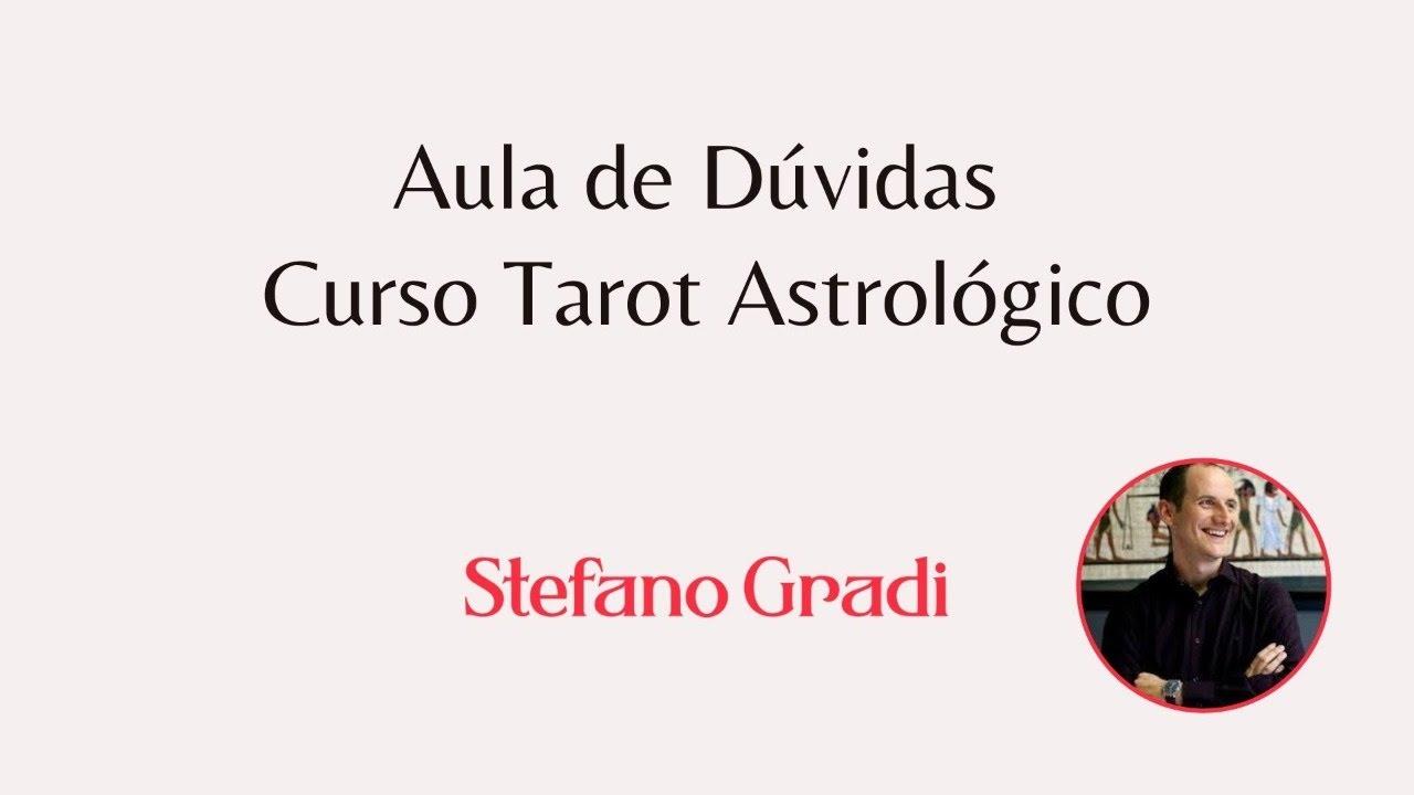 Aula de Dúvidas - Curso Tarot Astrológico