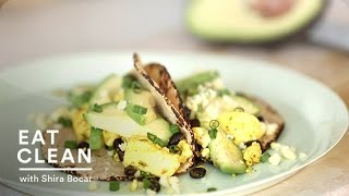 Tofu Scramble With Cotija Cheese And Tortillas - Eat Clean With Shira Bocar