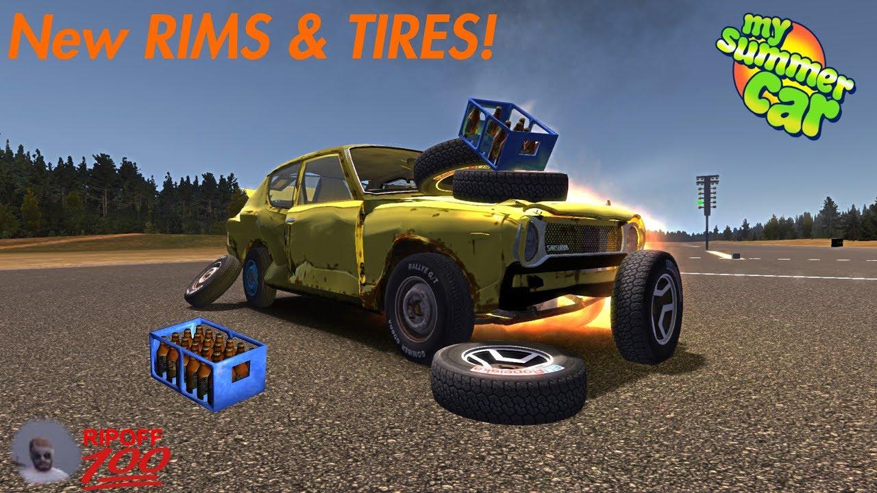 New Rims Wheels My Summer Car Youtube
