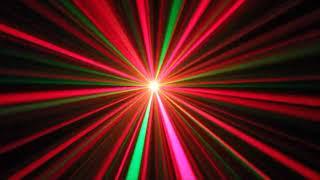 New JAMM-CLUSTER Laser Light Compact Portable DJ Disco Unit