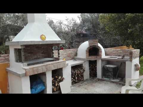 HOW TO BUILD AN OUTDOOR KITCHEN, BBQ, PIZZA OVEN, 14 DAY ...
