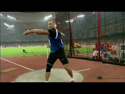 Tribute to Gerd Kanter - the best discus throwers in the world