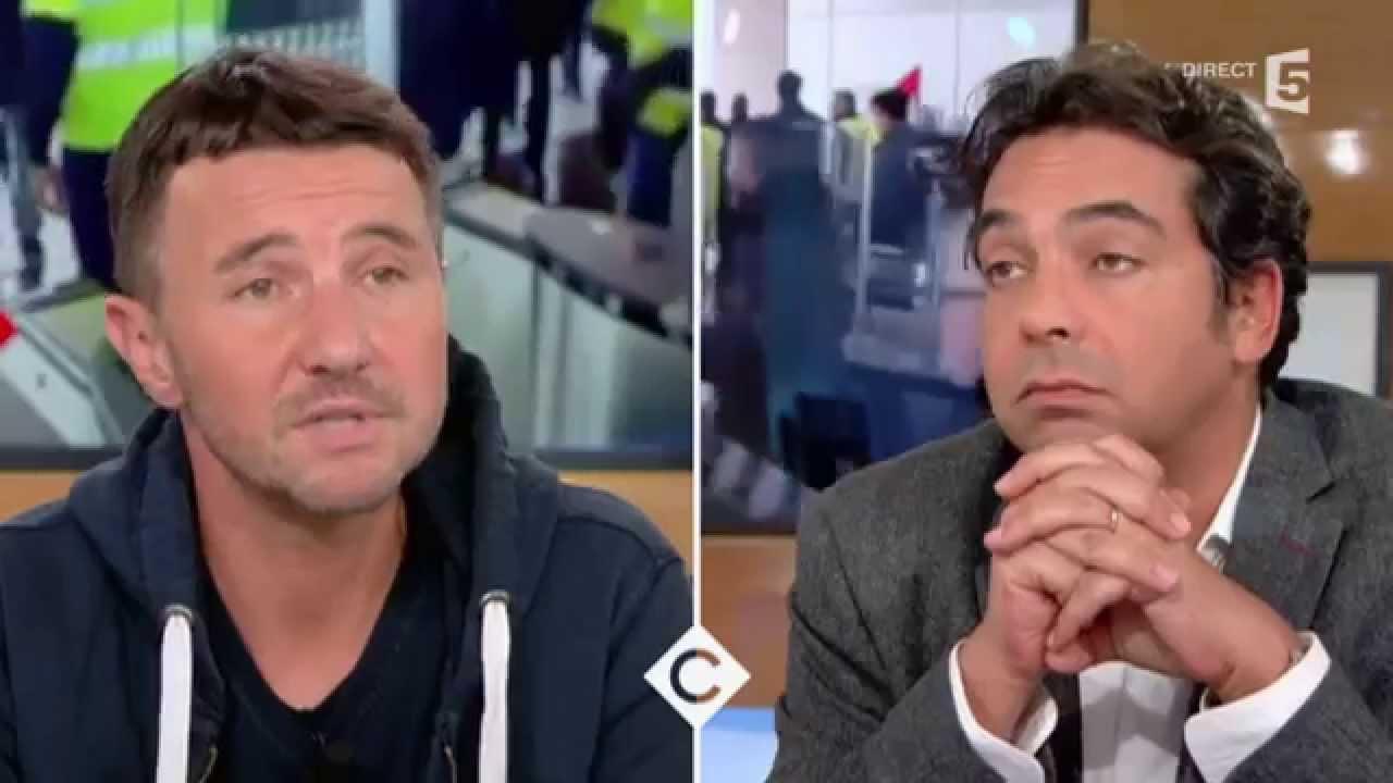 Faut-il soutenir les agresseurs d'Air France ? C à vous - 12/10/2015