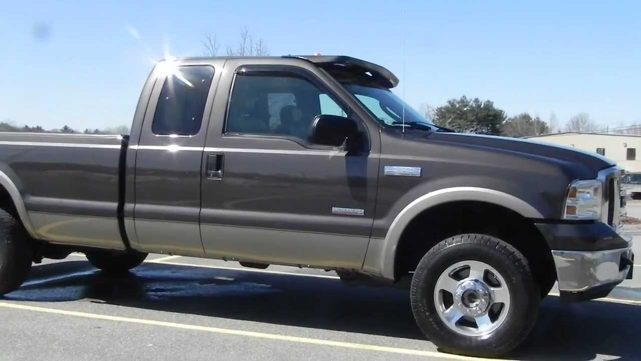 60 Powerstroke Diesle Lifted 2005 Ford F250 Xlt 4x4 Longbox 2004 F 250 Lariat
