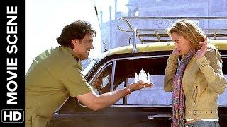 The problem with English | Salaam-e-Ishq | Movie Scene