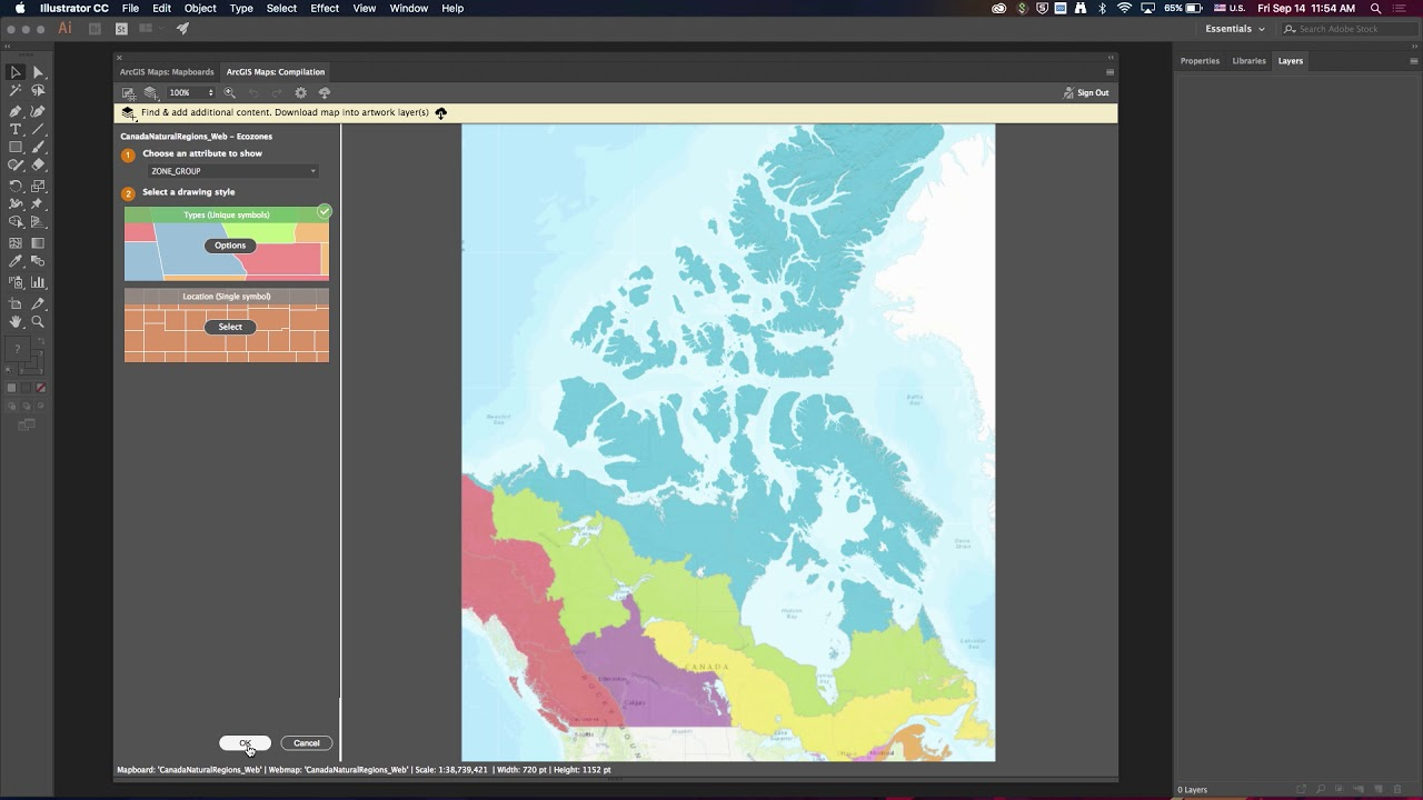 Maps for Adobe Creative Cloud | ArcGIS