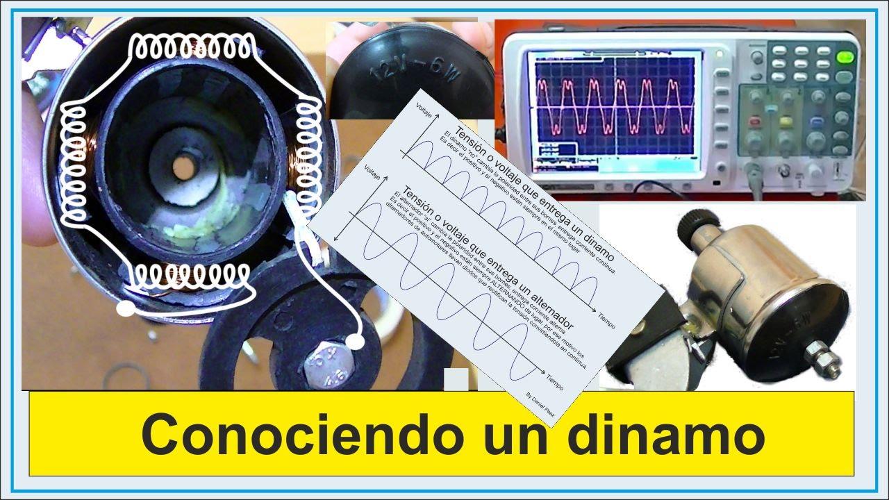 Generador de electricidad conociendo a una dinamo de - Generador de luz ...