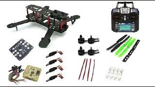 ZMR250 Бюджетный Комплект для сборки квадрокоптера  с аппаратурой