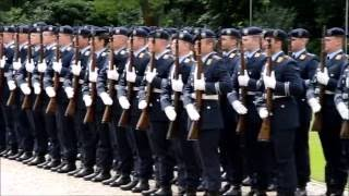 Guard Battalion and Military Honours at Bellevue Palace