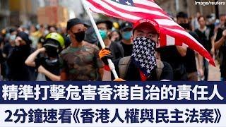 沒有高度自治就沒有特殊待遇 美國會速推《香港人權與民主法案》|新唐人亞太電視|20190915