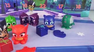PJ Masks Super Pigiamini 🎅 Il Calendario dell'Avvento con i mini Personaggi [Apertura Giochi]