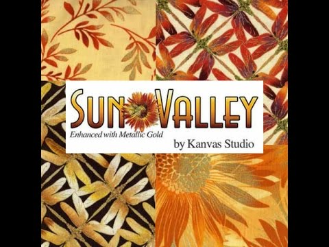 New Sun Valley Fabrics by Benartex / Kanvas Fabrics at The Fabric Garden in Madison, Maine