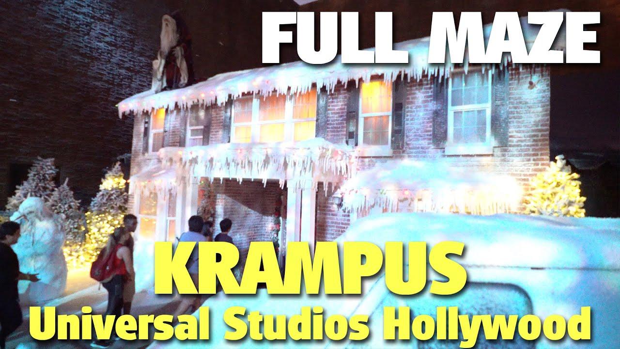 Download Krampus: Walkthrough & Reactions | Halloween Horror Nights | Universal Studios Hollywood