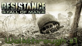 Walkthrough Résistance - Fall of Man épisode 1 - Un jeu épique
