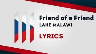 Czech Republic Eurovision 2019: Friend of a Friend Lake Malawi [Lyrics] 🇨🇿