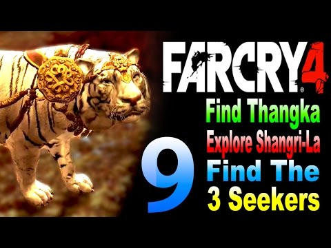 Far Cry 4 - Find Thangka / Explore Shangri-La / Find 3 Seekers Part 9