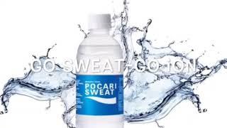 Iklan pocari sweat. Go sweat go ion