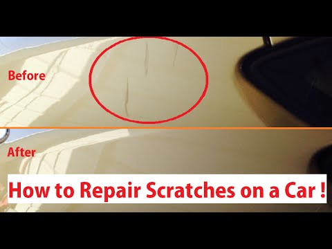 Scratch Repair. How to Repair Scratch on a car! The right way! from YouTube · Duration:  2 minutes 55 seconds