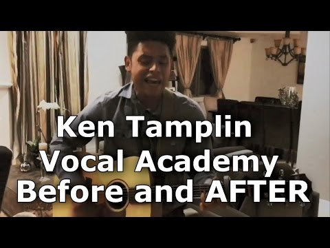 Ken Tamplin Vocal Academy Before and After