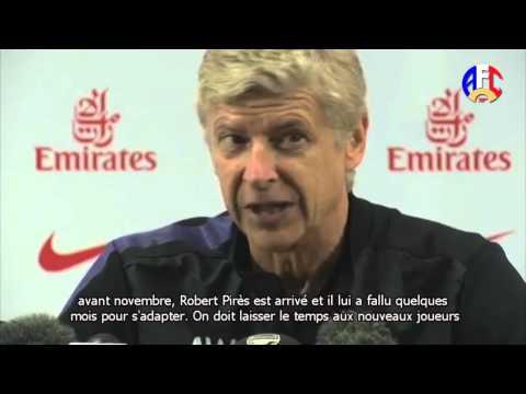 Arsène Wenger Press Conference - Liverpool v Arsenal 03.09.12 [VOSTFR]