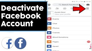 How to Deactivate Facebook Account (2019)