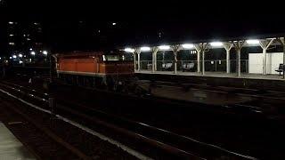 2019/10/26 【瀬野八】 JR貨物 1064レ EF210-136 & EF67 105 向洋駅 | JR Freight: Cargo w/ Bank Engine at Mukainada
