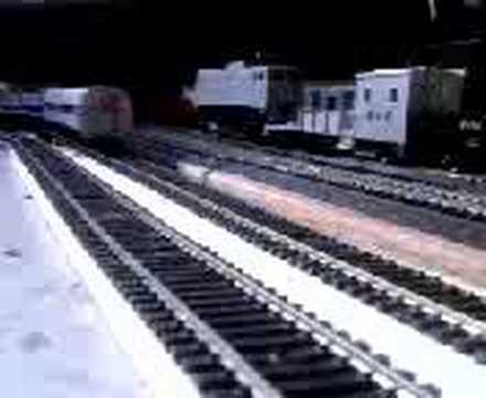 Model train AMTRAK