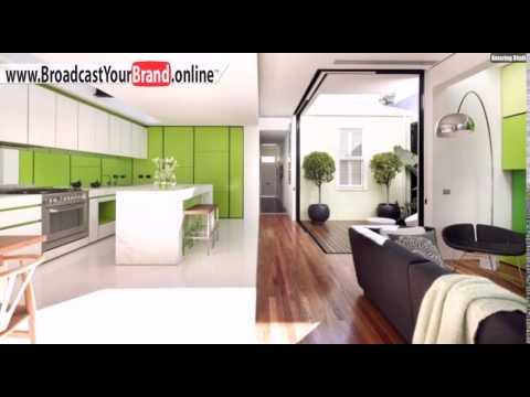 Wohnzimmer Mit Küche Weiß Grasgrün Schwarze Wohnzimmermöbel