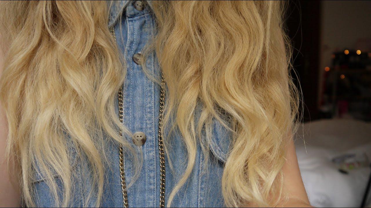 My Haircare Routine Coarse Amp Wavy Hair Youtube